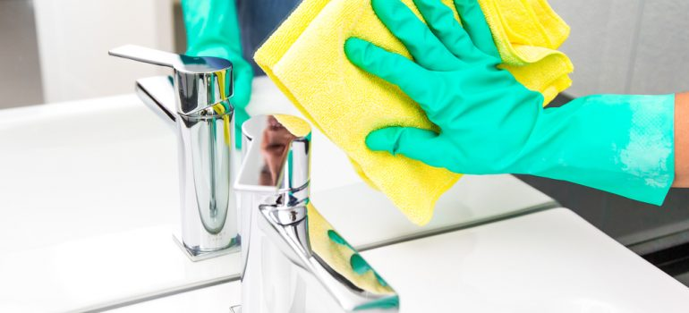The ultimate guide to cleaning your bathroom.