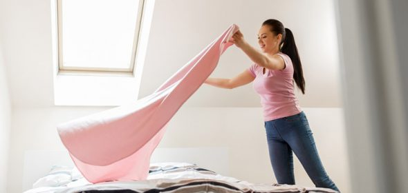 Bedroom spring cleaning checklist